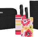 Irv's Luggage / Executive Essentials - Travelon RFID Wallet, Passport Case and Luggage Tag Set