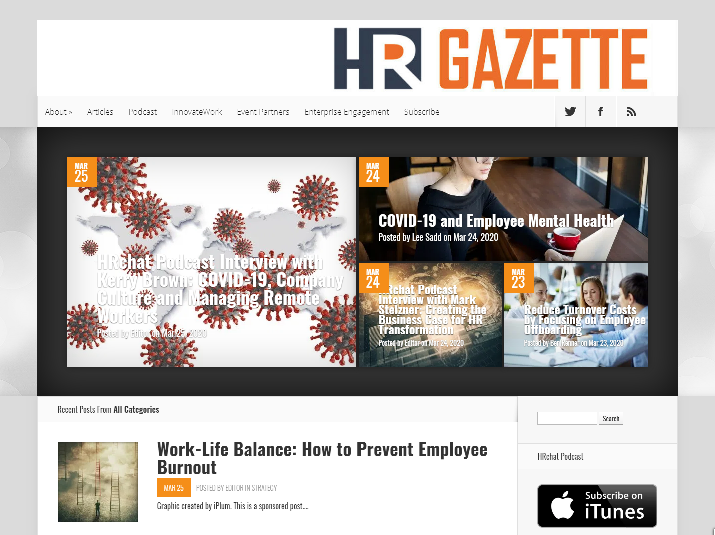 HR Gazette