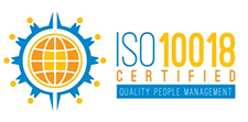 ISO 10018 Cerfified. Quality People Management
